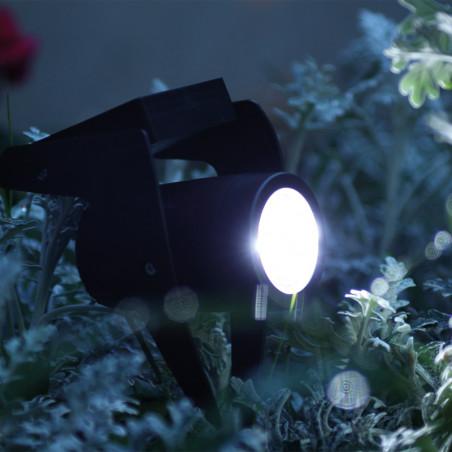 Power Spot solaire 30lm Noir