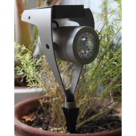 Power Spot solaire 30lm Taupe