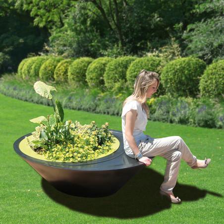 Pot de fleurs à réserve d'eau Sitting