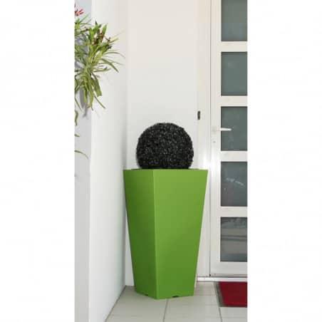 Pot de fleurs carré 80cm Stark S