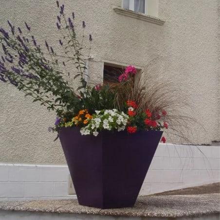 Pot de fleurs carré Square