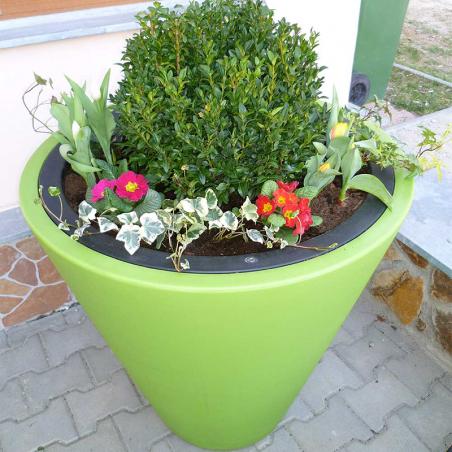 Pot de fleurs 80 cm bicolore OpenM