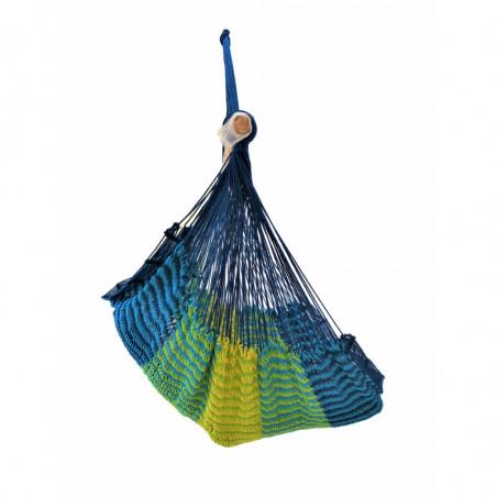 Hamac Chaise Mexicain Bleu