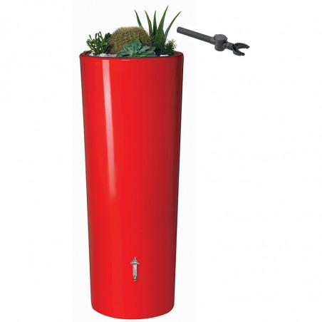 Récupérateur d'eau COLOR 350L TOMATO