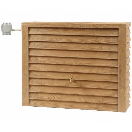 Récupérateur d'eau Cuve WOODY 350 L bois clair
