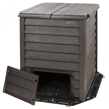 Composteur THERMO WOOD imitation bois 400 L