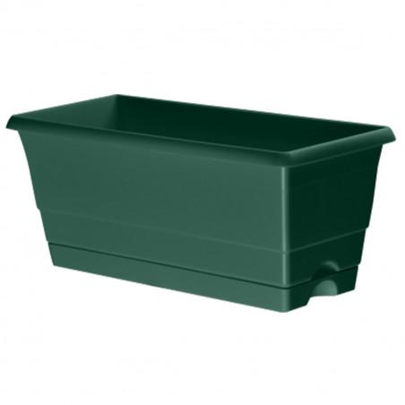 Mini Jardinière Verte 25 cm + réservoir