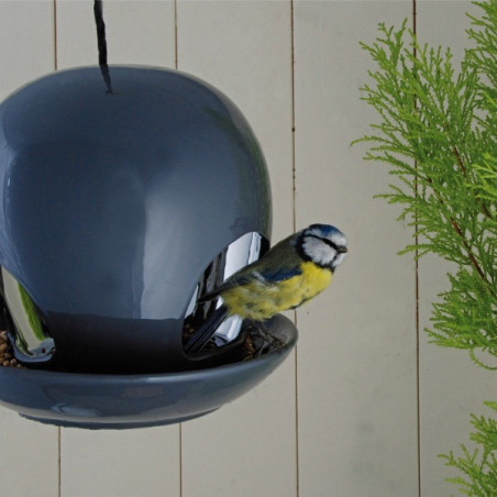 Mangeoire oiseaux céramique