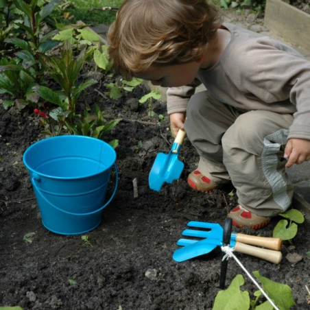 Set Outils Jardin Bleus