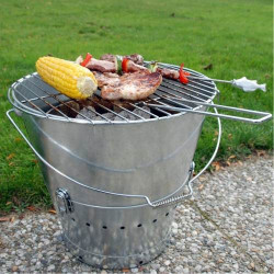Barbecue portable seau grand modèle