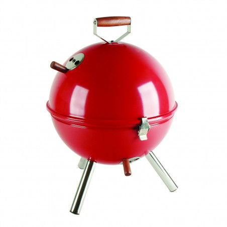 Barbecue de table rouge