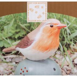 Oiseau Sonore d' Accueil orange